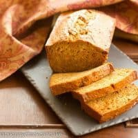 Sweet Potato Bread | That Skinny Chick Can Bake
