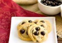 Brown Butter Cookies with Brookside Chocolate