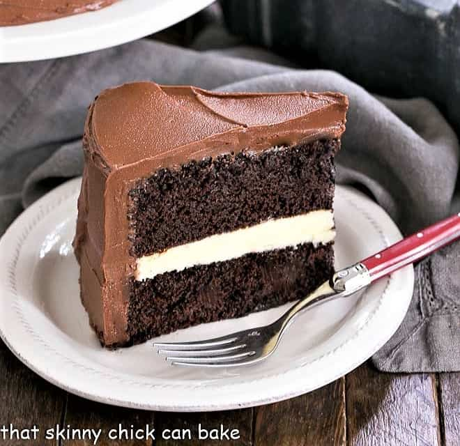 Super Chocolate Layer Cake With Ganache That Skinny Chick Can Bake Funny Birthday Cards Online Alyptdamsfinfo