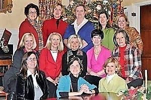 Neighborhood Cookie Exchange group photo