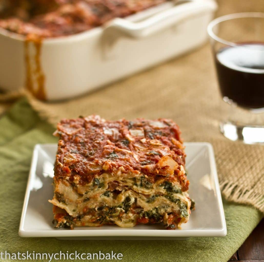 Easy No Boil Spinach Lasagna Recipe