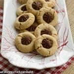 Star of Bethlehem Cookies AKA Peanut Blossoms
