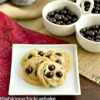Brown Butter Cookies with Brookside chocoaltes