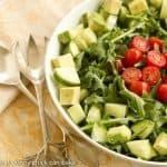 Maddy's Arugula Salad #SundaySupper