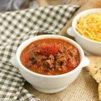 Chili with Black Beans