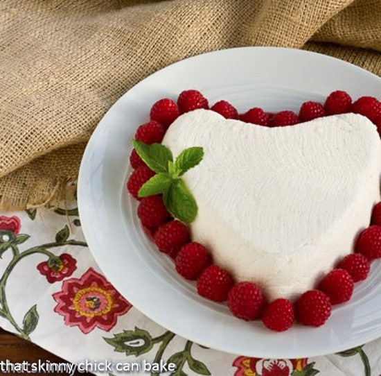 Coeur a la Creme | An exquisite no-bake dessert that's perfect for Valentine's Day
