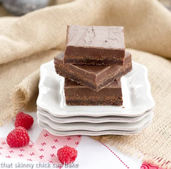 Fudge Topped Brownies! The ultimate chocolate lover's treat!
