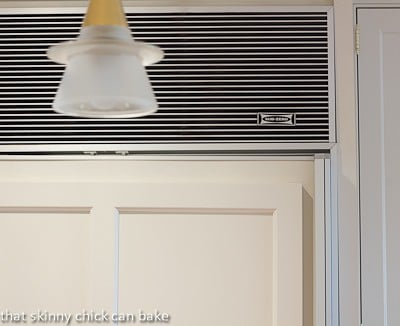 Sub-Zero logo on refrigerator