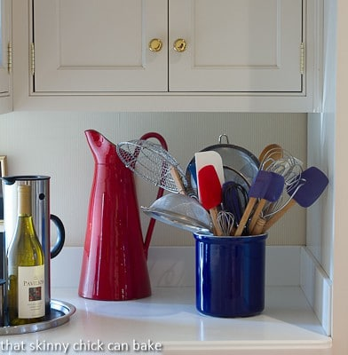 Canisters for holding kitchen tools