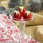Mascarpone Filled Strawberries