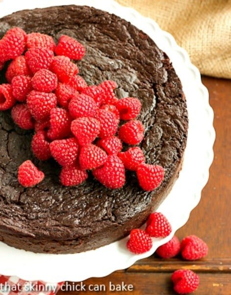Flourless Chocolate Kahlua Cake | An exquisite, dense cake infused with coffee