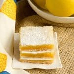 Lemon Squares #SecretRecipeClub