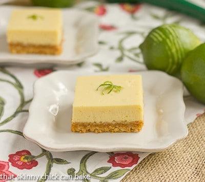 Key Lime Bars with Coconut Crust #DessertChallenge