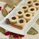 Mini Rolo Cheesecakes with Pretzel Crusts
