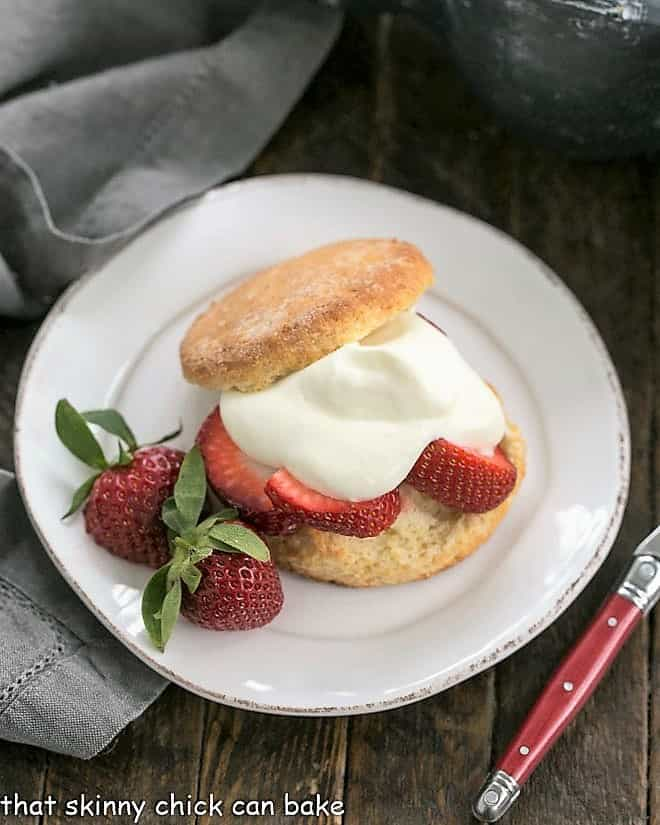 Strawberry Shortcake with White Chocolate Whipped Cream featured image