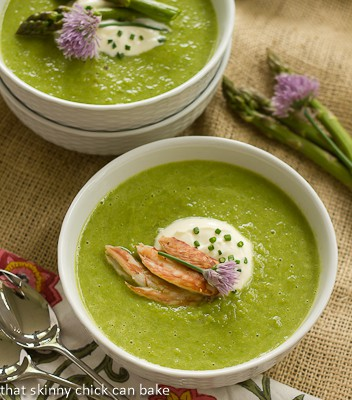 Post image for Asparagus Soup #FrenchFridayswithDorie