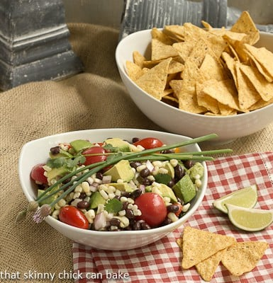 Post image for Black Bean and Avocado Salsa…#SecretRecipeClub