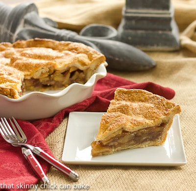 Classic Apple Pie | The perfect apple pie recipe | That Skinny Chick Can Bake