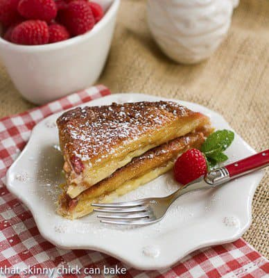 Coupetade - a French Toast Bread Pudding that's a terrific dessert or decadent breakfast!