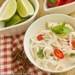 Spicy Vietnamese Chicken Noodle Soup #FRD2013 #FrenchFridayswithDorie