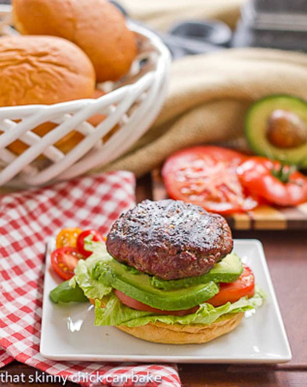 California Burgers | A summer classic!