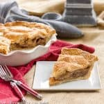 Classic Apple Pie #TwoSweetiePies