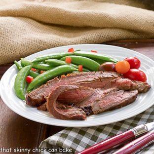 Korean Grilled Flank Steak