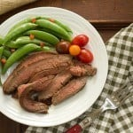 Korean Grilled Flank Steak #SundaySupper