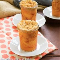 Peach crisps in Jars featured image