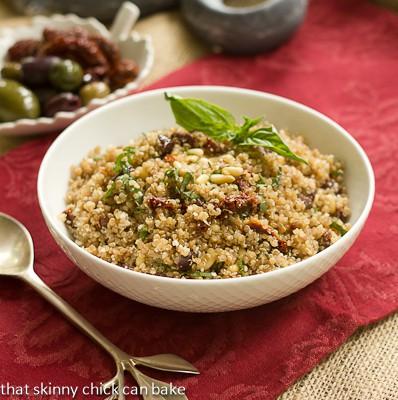 Quinoa Salad with a Mediterranean Flair!