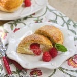 Raspberry Cream Cheese Brioche Pockets #TwelveLoaves