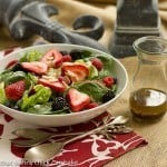 Spinach, Almond and Berries Salad #TheSaladBar