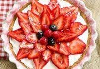 Strawberry Cream Cheese Dessert #SundaySupper
