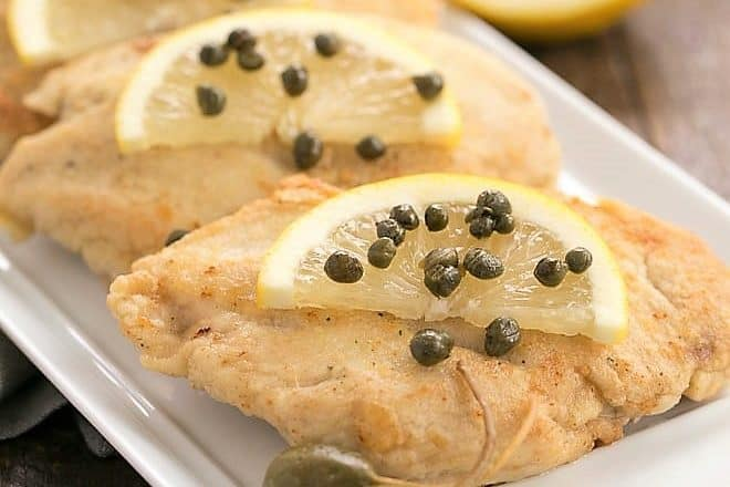 Easy Skillet Chicken Piccata featured image