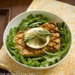 Mediterranean Swordfish with Arugula Salad #FrenchFridayswithDorie