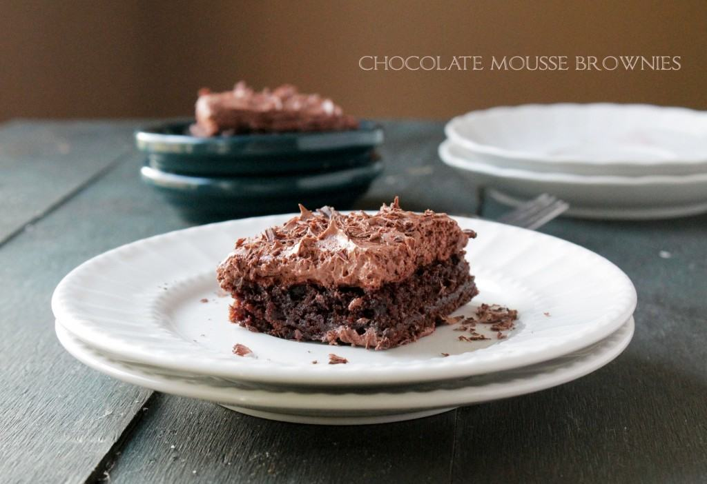 Chocolate_Mousse_Brownies from Diethood