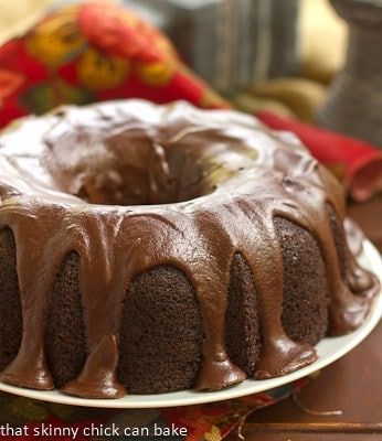 Chocolate Sour Cream Bundt Cake #SecretRecipeClub
