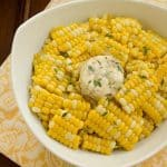 Boulevard Raspail Corn on the Cob with Shallot Thyme Butter #FrenchFridayswithDorie