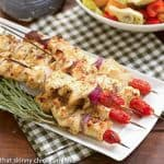 Feta Chicken Kabobs #SundaySupper
