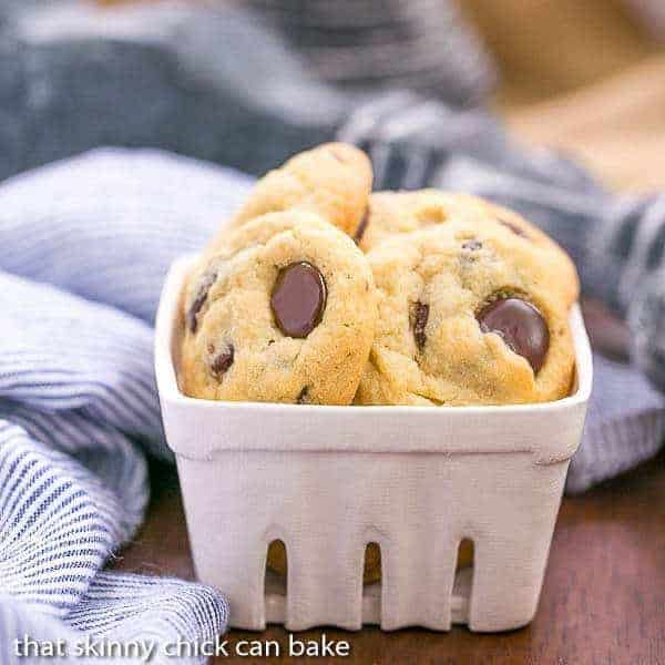 Soft Chocolate Chip Cookies with Pudding  Soft, chewy with a secret ingredient!