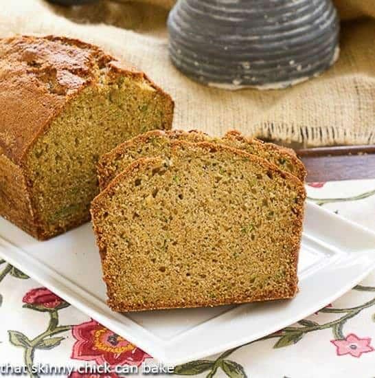 Sugar Crusted Zucchini Bread | A classic zucchini bread recipe with a sweet sugar crust