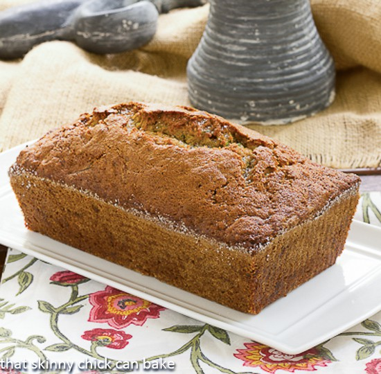 Sugar Crusted Zucchini Bread - A classic zucchini bread recipe with a sweet sugar crust