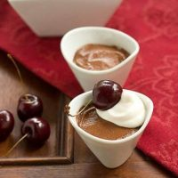 Egg Free Chocolate Mousse - Creamy and decadent chocolate mousse recipe