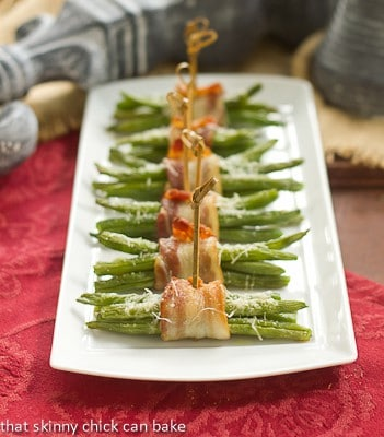 Green Beans and Bacon Bundles | An elegant and impressive side dish
