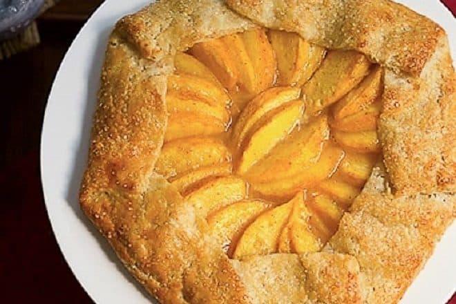 Rustic Peach Galette