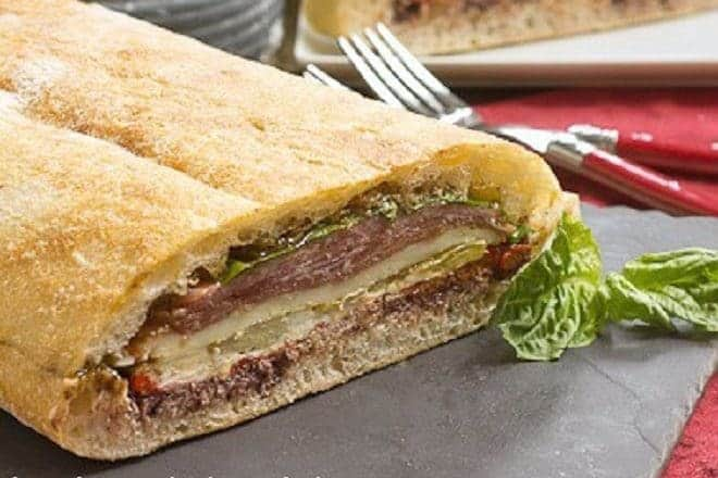 Pressed Brick Sandwich