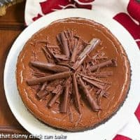 Double Chocolate Cheesecake Featured iimage