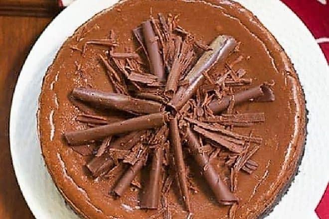 Double Chocolate Cheesecake Featured iimage