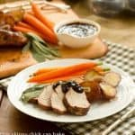 Pork Tenderloin with Plum Sauce #SundaySupper