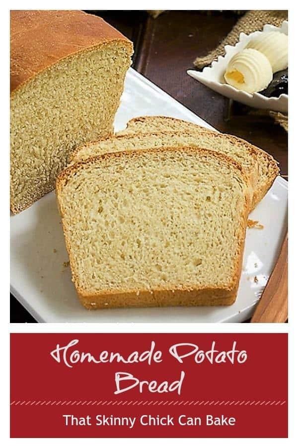 Homemade Potato Bread Pinterest Collage